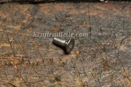 "#10-24 x 1/2"" Flathead Allen Bolt, chromed"