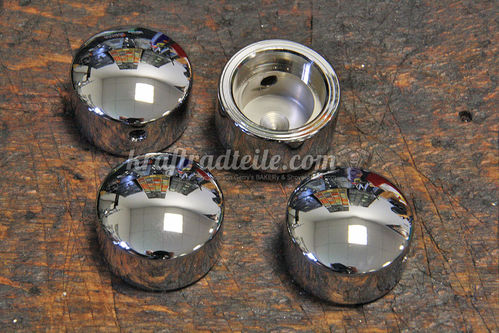 Cylinder Head Bolt Covers, chromed, EVO & TwinCam 84-17, Sportster© '92 up