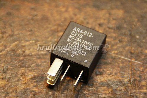 Starter Relay, BT 00-11, with Diode