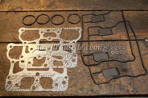 "Gasket Kit for S&S Die Cast Rocker Cover, 4-1/8"" Engines (BigDog, V111, V117, V124)"
