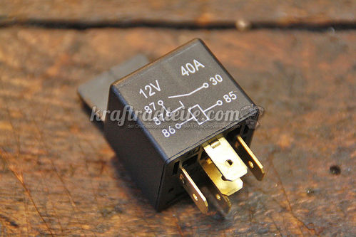 Starter Relay, BT 80-e93 (Bosch Type)