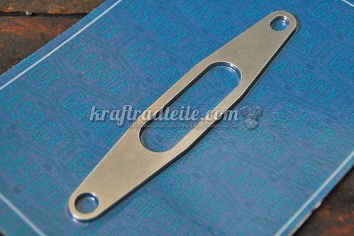Carb Support Bracket, Stainless, universal use, BT 36-84