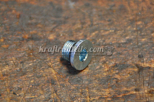 Drain Plug, magnetic, for S&S Crankcases