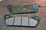 TRW Brake Pads, allround organic, FL / FLT / FLH 80-85, rear