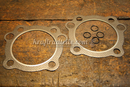 Cylinder Head Gasket, Graphite with Firering, EVO 84-99