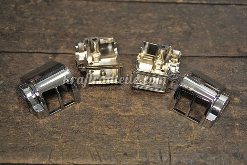 Switch Housings, chromed, BT / XL 82-95